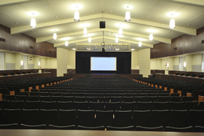 Ursuline Academy auditorium after phpto
