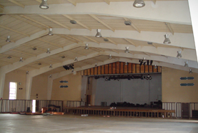 Ursuline Academy auditorium before photo