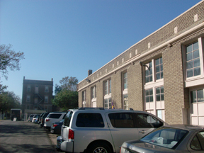 Ursuline Academy exterior - before photo