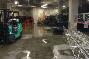 Arena Water Damage