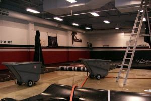 Wrestling Gym Water Damage